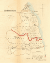 Northumberland county map. Divisions boroughs electoral. REFORM ACT. DAWSON 1832